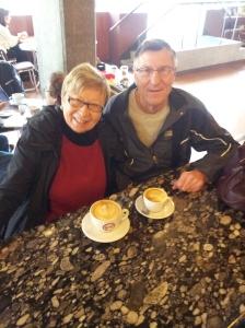 Latte art at Vivace - una bella tazza di caffe